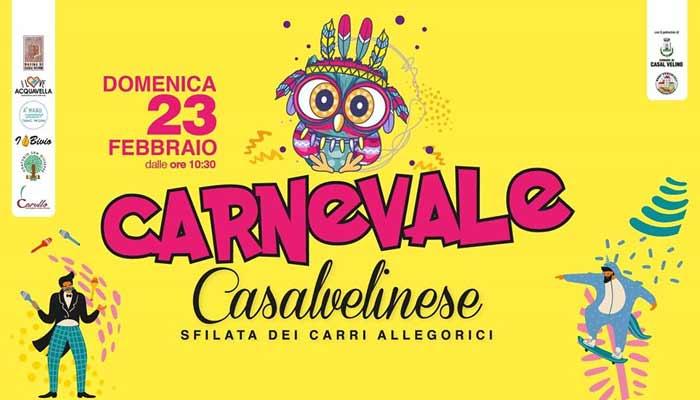Casal Velino Marina, Carnevale Casalvelinese – 23 Febbraio 2020