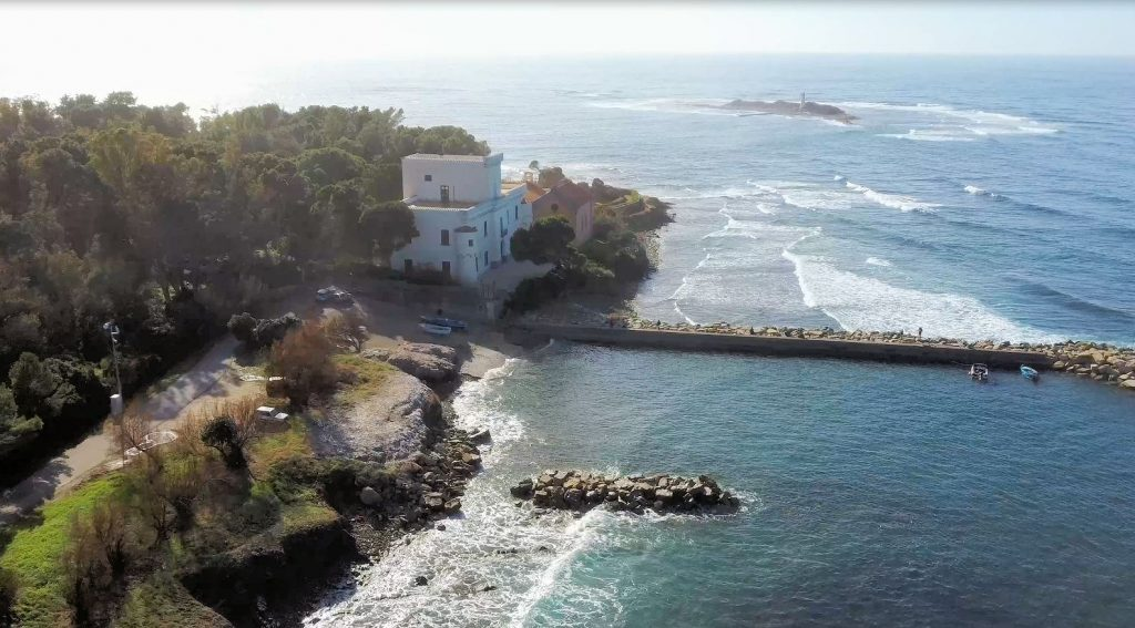 puzzle 1024x567 - Il puzzle di oggi: Isola di Licosa (tratto dal video Il Cilento con il drone)