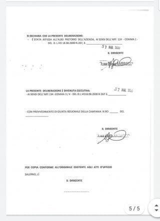 1 320x442 - Asl di Salerno: deliberazione del potenziamento dei presidi ospedalieri - il documento