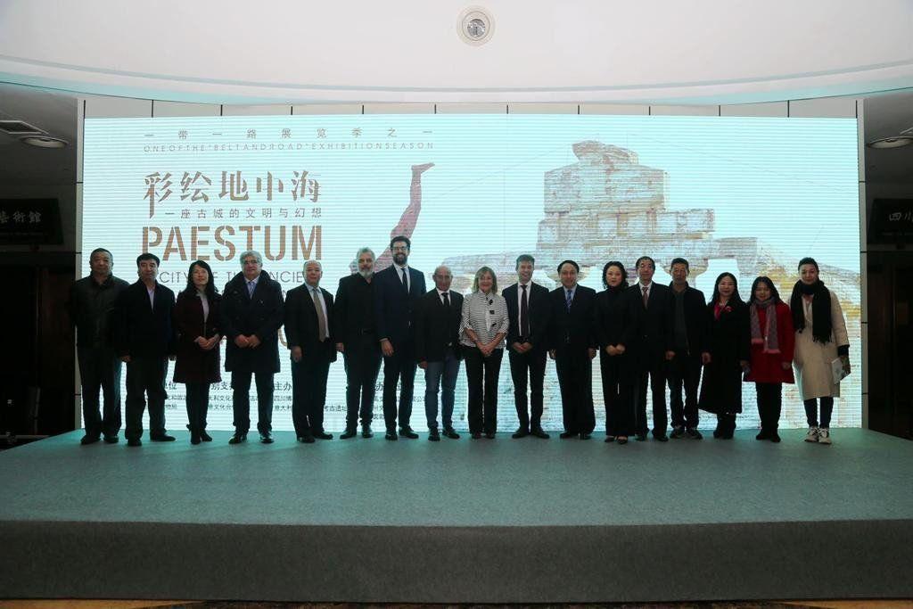 Paestum riapre in Cina