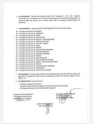 5 320x427 - Asl di Salerno: deliberazione del potenziamento dei presidi ospedalieri - il documento