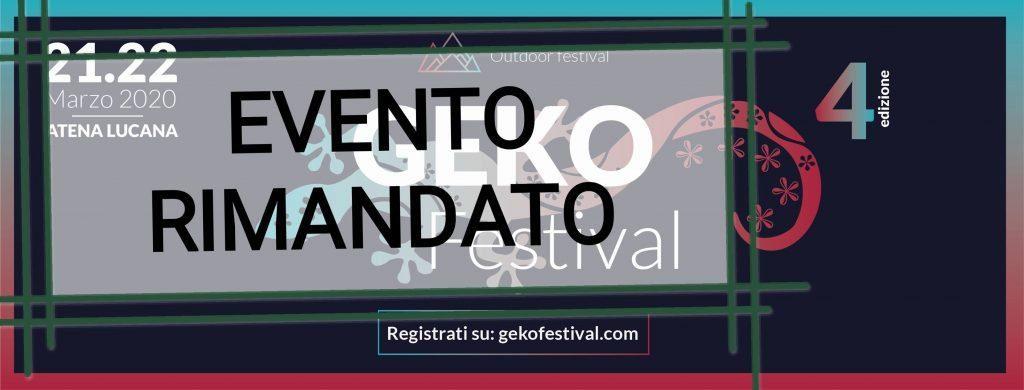Geko Festival ad Atena Lucana: evento rimandato – il post degli organizzatori