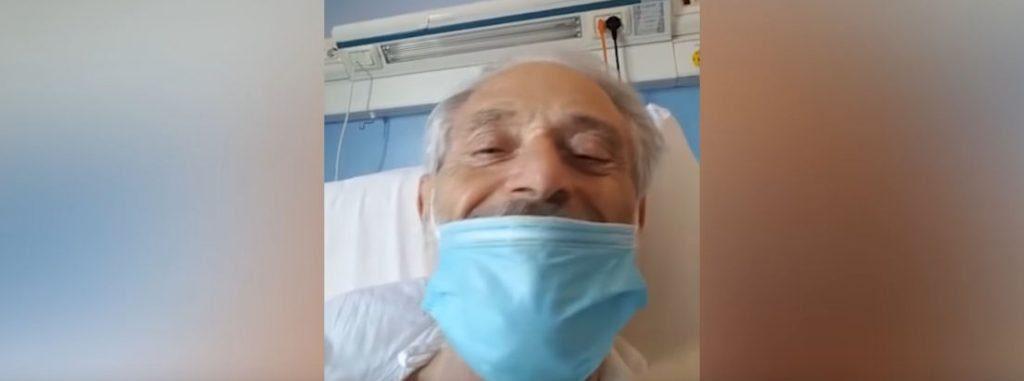"""Amedeo Minghi in lacrime dall'ospedale: """"Sapervi accanto per me è molto importante"""" – video"""