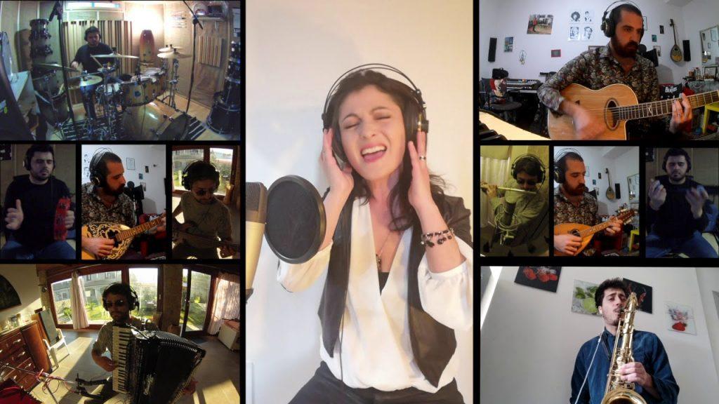 """VIO.LA la band torna con una nuova cover registrata a distanza """"E LA MUSICA VA"""""""