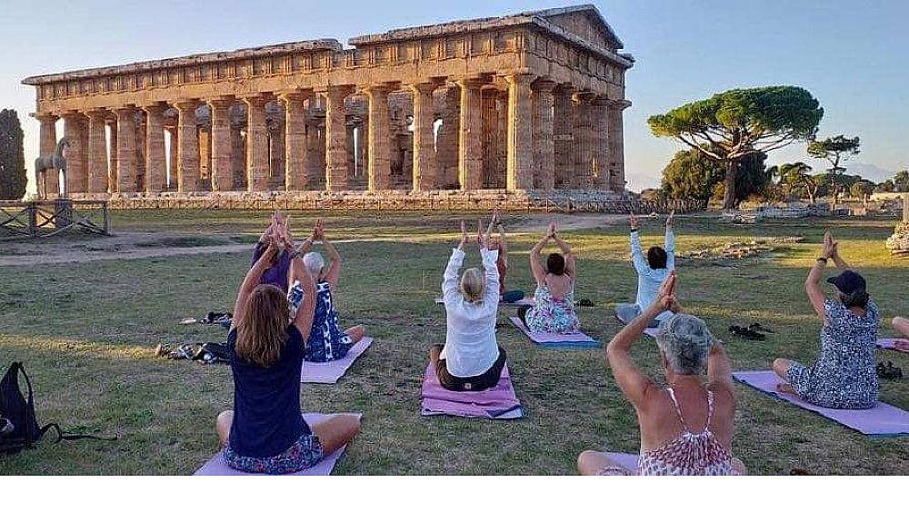 25062020 yoga nei templi 03 - Paestum, appuntamento con lo yoga nei templi - 30 GIUGNO 2020