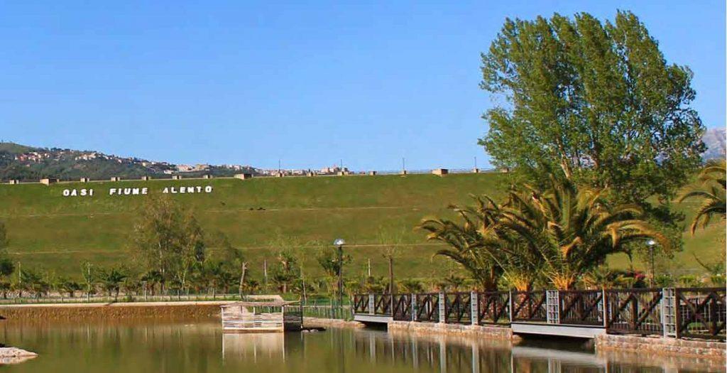 oasii fiume alento 1024x525 - Con il drone sull'Oasi Fiume Alento - video
