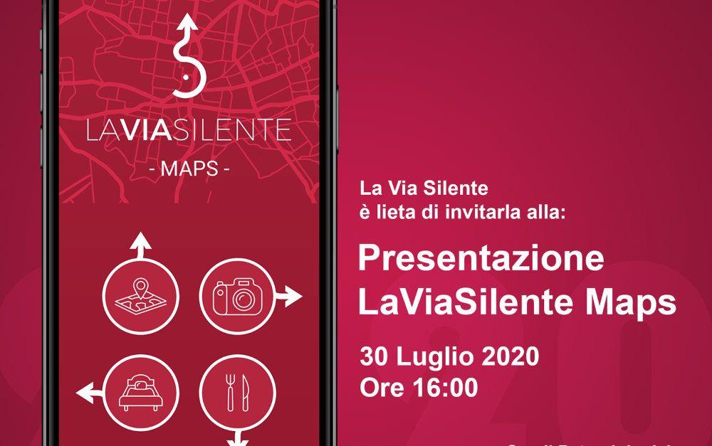 28072020 la via silente app - LA VIA SILENTE MAPS, l'app ufficiale del percorso di cicloturismo cilentano