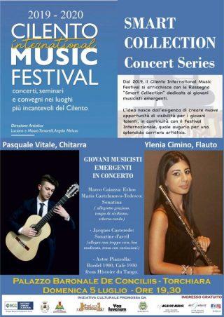 """30062020 cilento music festival locandina 320x452 - Torchiara, """"Musica e Artigianato"""": 5° appuntamento al Palazzo Baronale De Conciliis - 5 luglio"""