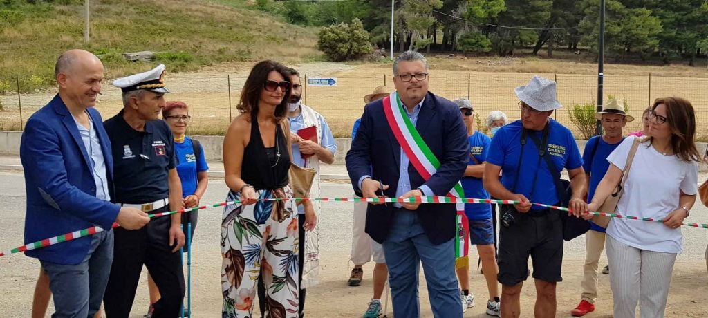 Agropoli, inaugurati i sentieri di Trentova – Tresino