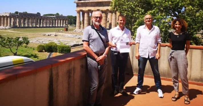 Direttore del Parco archeologico di Paestum e Velia, Zuchtriegel, membro onorario della Società Friulana di Archeologia