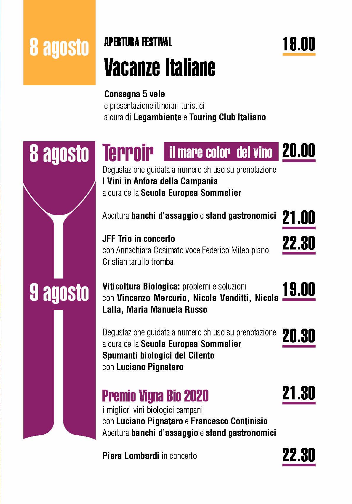 1 1 - Pioppi, 5° Festival della Dieta Mediterranea - dall'8 all'1 Settembre 2020