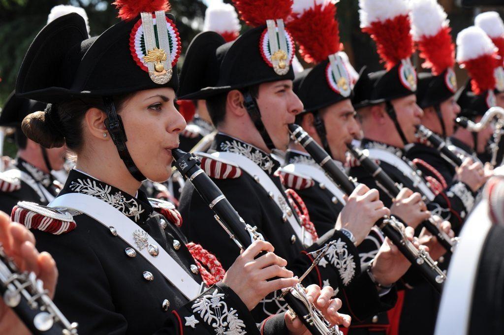 Paestum, concerto della Fanfara dei Carabinieri per la ricerca pediatrica -10 agosto 20