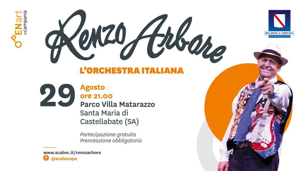 arbore evento 29ago 2048x1152 1 1024x576 - S. MARIA DI CASTELLABATE - Renzo Arbore Orchestra Italiana - 29/8/20