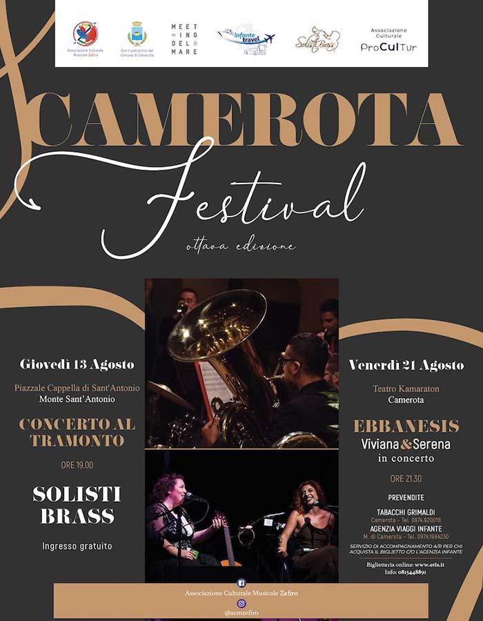 camerota festival - Camerota Festival in sicurezza nel teatro Kamaraton - 13 e 21 agosto 2020