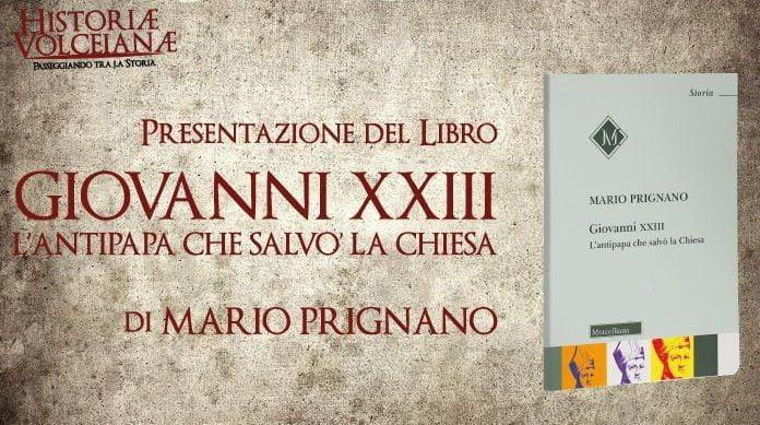 """Buccino, presentazione del libro di Mario Prignano """"L'antipapa che salvò la Chiesa"""" – 17/8/20"""