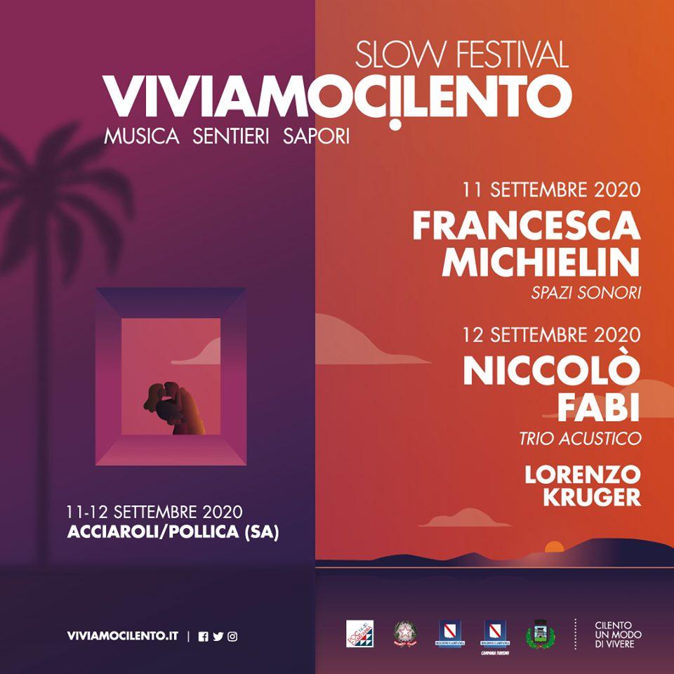 vivamocilento 2020 Pollica acciaroli concerti cilento 1 - Acciaroli, ViviamoCilento 2020 Slow Festival - dall' 11 al 12 Settembre 2020