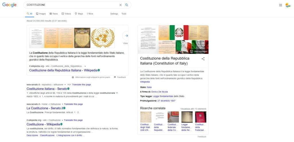 Un termine in disuso: al servizio del cittadino – una storia incredibile vista su google