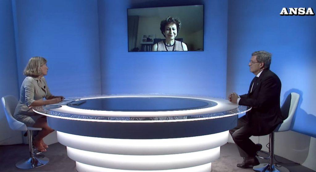 """AnsaForum: """"Voci dal futuro"""" (dedicato allo sviluppo sostenibile) con Irene Kahn (Onu -OHCHR) – video"""
