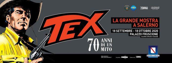 Salerno, parte il comicon extra con Tex. Performance di Bruno Brindisi e Alessandro Nespolino – il programma