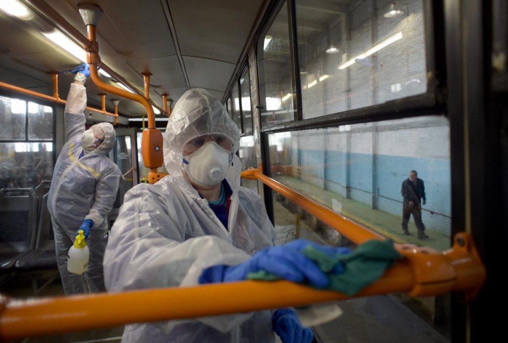 coronavirus russia afp 1024x691 - Covid in Italia, 3.455 contagi e 140 morti - Situazione in Campania (17/5/21)