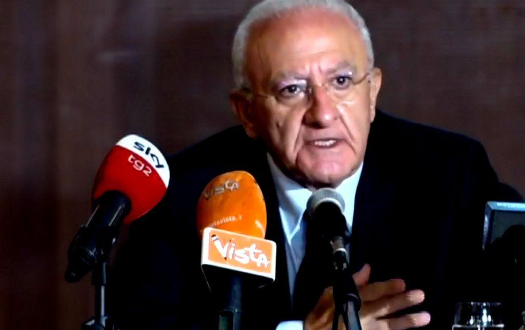 Elezioni: Le prime dichiarazioni di De Luca – video