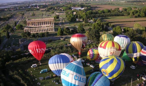 Paestum, Festival delle Mongolfiere – 10/18 ottobre 2020 – il Programma completo