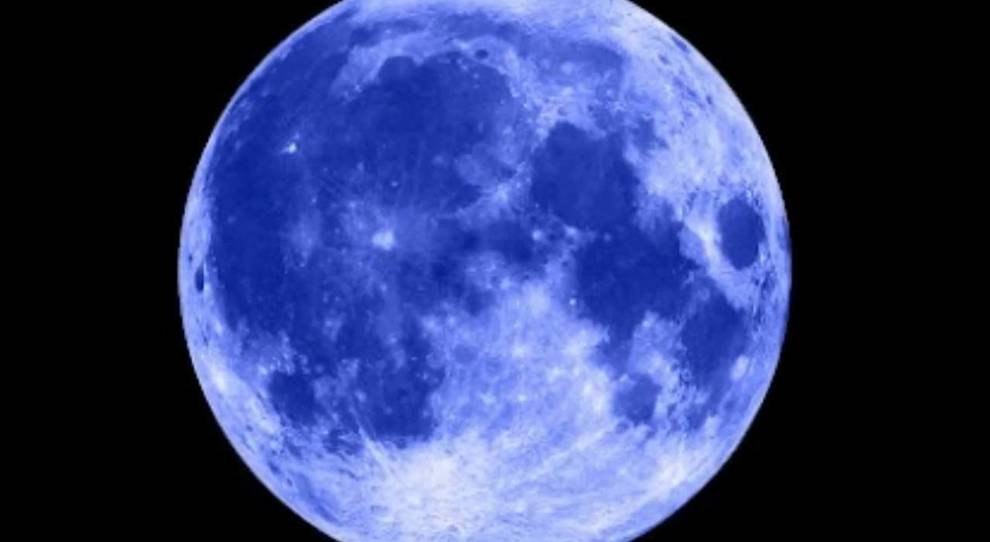 31 Ottobre, Luna blu visibile da tutti i fusi orari