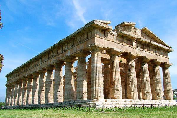 Tempio di Nettuno 600x401 1 - Paestum, monitoraggio del tempio di Nettuno