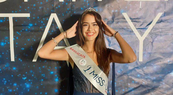 """claudia - Continua la """"saga"""" di Miss Universe 2020: la vincitrice per la Basilicata e' Claudia Torchia"""