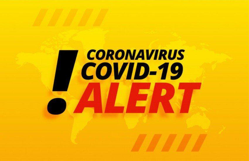 covid 19 allerta sfondo giallo - Covid nel Cilento