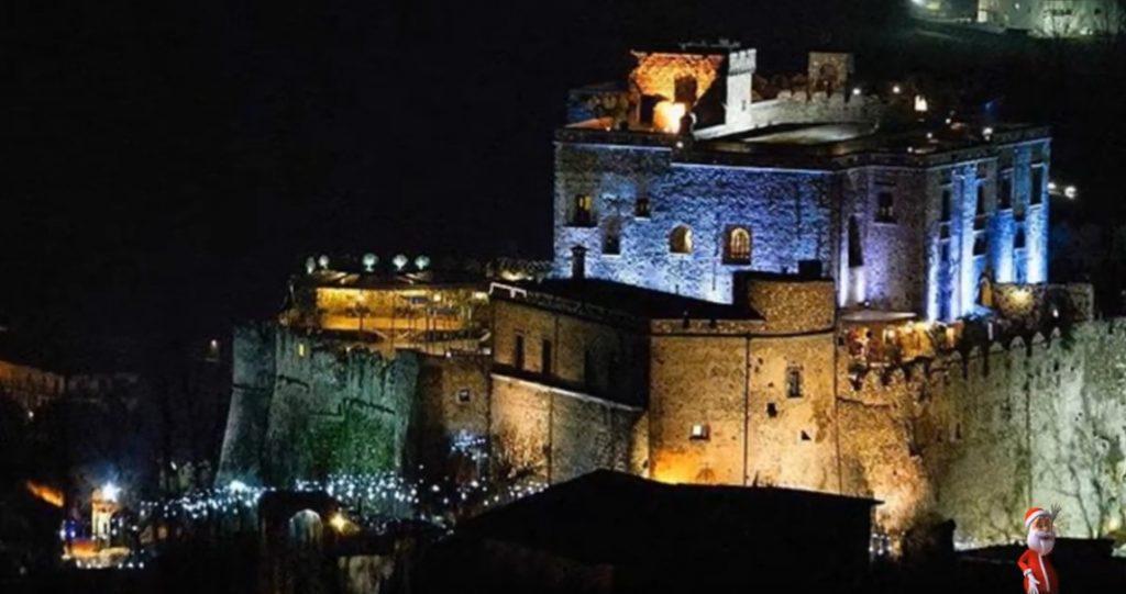 Natale 2016: il proprietario del castello di Limatola acquisto' quello di Rocca Cilento… andammo a Limatola – video