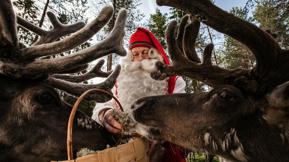 Babbo Natale si trasferisce sul Cervati