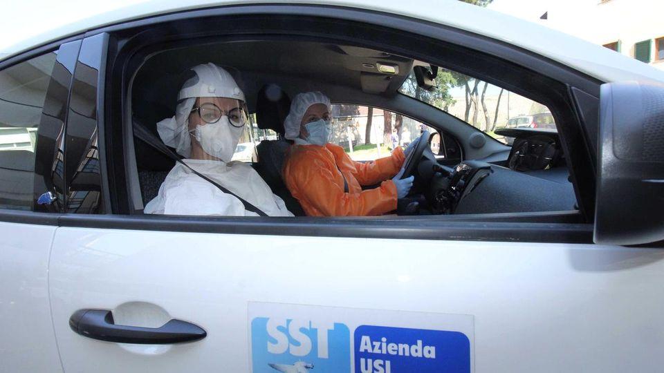 Da Castellabate un'auto per l'USCA di Agropoli