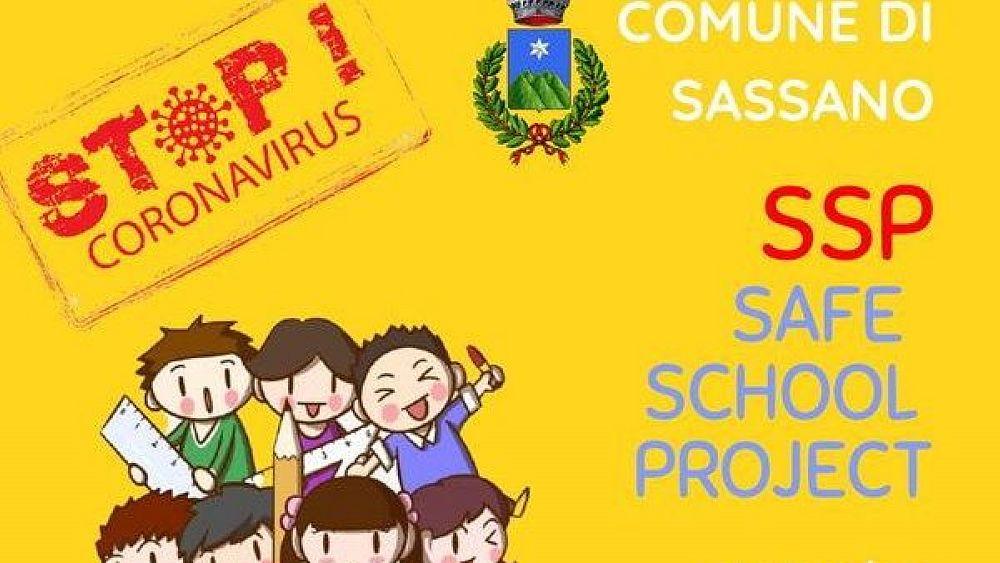 """24012021 142403475 186637686542047 3750143593136681026 n 03 - Sassano, """"Safe School Project"""": screening nelle scuole"""