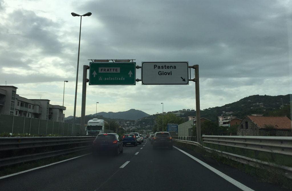 salerno tangenziale pastena 1024x670 - Salerno, lavori in tangenziale dureranno sei mesi