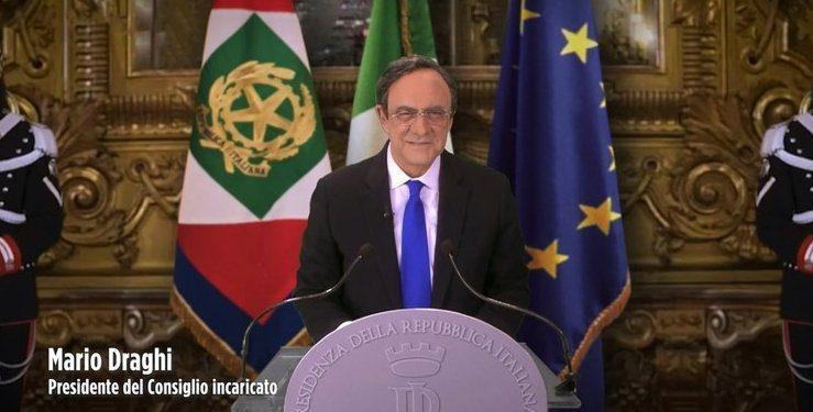 Crozza diventa Draghi – video