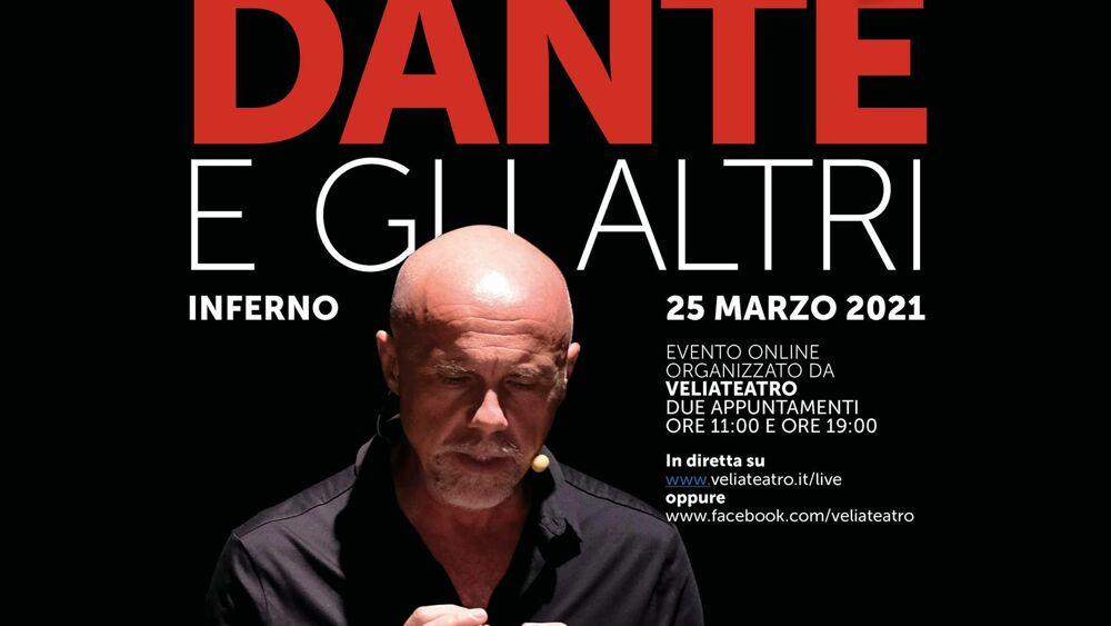 dante 7 - Veliateatro: recital on-line DANTE E GLI ALTRI INFERNO
