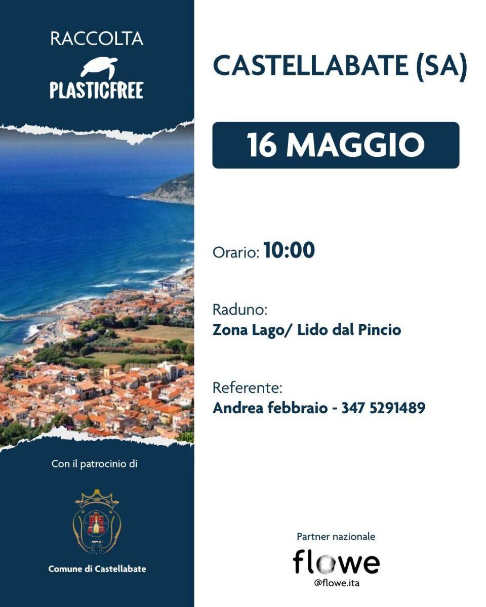 14052021 locandina comune plastic free 960x1200 - Castellabate, giornata per l'ambiente - 16 maggio 2021
