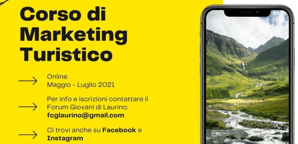 corso marketin laurino 1024x495 - Laurino, Il Forum Giovani presenta un corso di Marketing Turistico