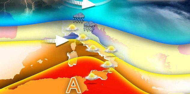 meteo - Il meteo.it: instabilita' al nord ma caldo estivo nel mezzogiorno
