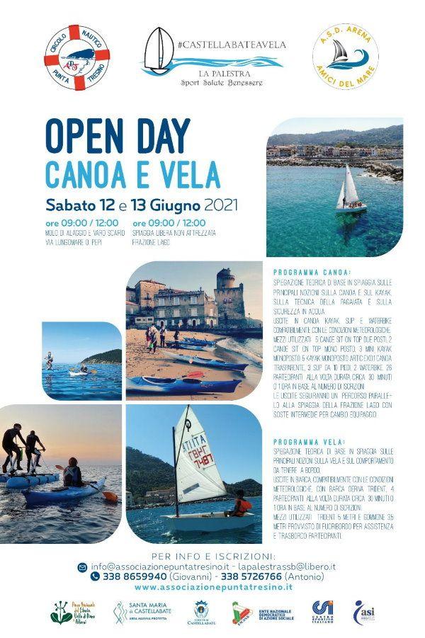 11062021 castellabate a vela - Castellabate, weekend all'insegna della canoa e della vela nell'area marina protetta