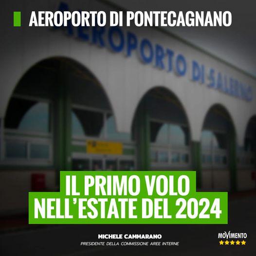 201915491 2507954222682865 2234547773456822602 n - AEROPORTO DI PONTECAGNANO, IL PRIMO VOLO NELL' ESTATE DEL 2024