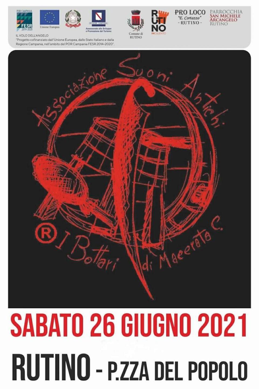 Bottari di Macerata Concerto 2021 Cilento eventi Locandina 960x1440 - Rutino, I Bottari di Macerata in Concerto - 26/6/21