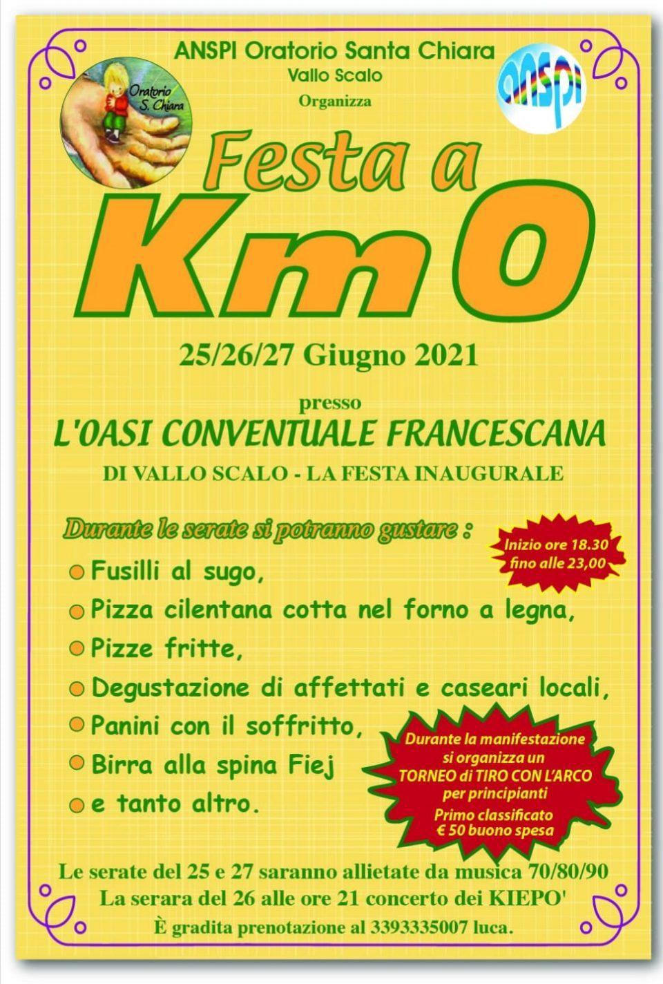 Festa a km zero Vallo Scalo Cilento Programma 960x1424 - Vallo Scalo, Festa a km zero - dal 25 al 27 Giugno 2021