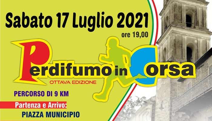 Perdifumo in corsa 2021 Gara podistica Cilento - 9^ Perdifumo di Corsa - 17/7/21