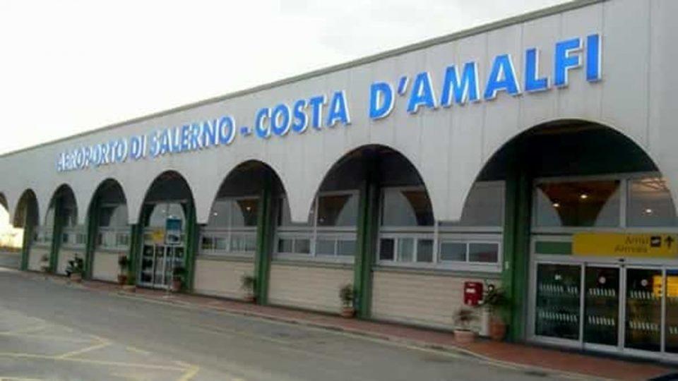 aeroporto di salerno 2 3 960x540 - Aeroporto Costa d'Amalfi, Sopralluogo del presidente della Commissione Aree Interne e della senatrice Gaudiano con l'ex ministro Toninelli