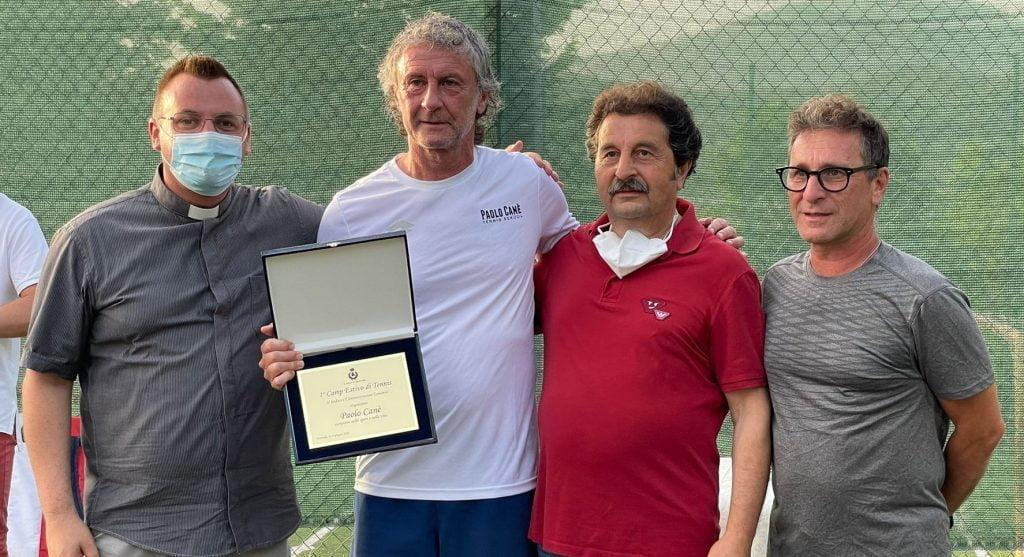 cane 1024x557 - Tortorella, conclusa la prima settimana del Camp Tennis/Multisport con Paolo Cane'