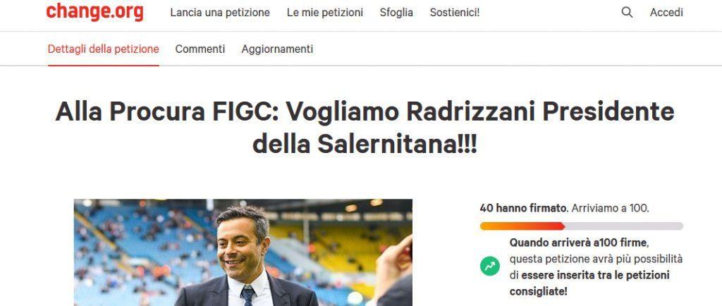 Salernitana, momenti di riflessione per i trustee ma non per i tifosi: partono le pec di chiarimento e la petizione online