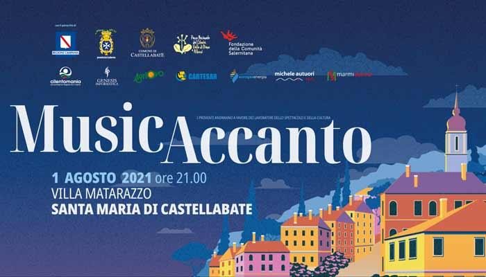 MusicAccanto 2021 Santa Maria di Castellabate Cilento concerto - S. M. di Castellabate, MusicAccanto - 1/8/21