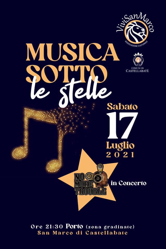 Musica sotto le stelle 2021 San Marco di Castellabate Cilento Locandina - S.Marco di Castellabate, Musica sotto le stelle - 17/7/21